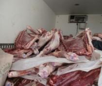 Крупную партию мясопродуктов задержали на границе с Крымом