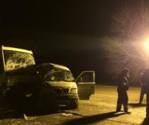 Под Симферополем столкнулись два автобуса: есть пострадавшие