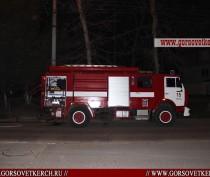 В Керчи сгорело бывшее отделение «ПриватБанка» (ФОТО)