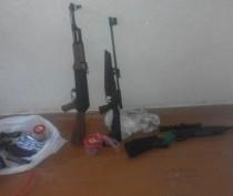 Двое крымчан ночью похитили из тира оружие и деньги