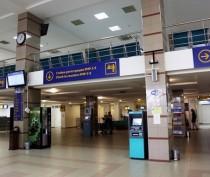 Ночью в недавно отремонтированном терминале аэропорта «Симферополь» прорвало канализацию