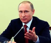 Аксёнов от имени крымчан поздравил Путина с днем рождения