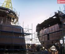 Керченская верфь «Фрегат» построила паром для перевозок между Крымом и Кубанью (ФОТО)
