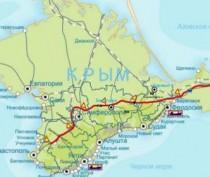 Минтранс Крыма продемонстрировал, как будет выглядеть трасса «Таврида» (ФОТО)