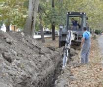 Работы по прокладке нового центрального канализационного коллектора в Феодосии идут с полуторамесячным отставанием