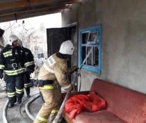 Часть жилого дома обрушилась в Первомайском районе в результате взрыва газового баллона
