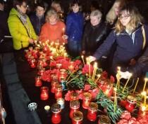 Траурная панихида в связи с трагическими событиями в Санкт-Петербурге прошла в Симферополе (ФОТО)