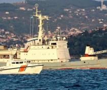 Корабли ЧФ приступили к подъёму оборудования с затонувшего судна «Лиман» – СМИ