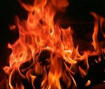 В Коктебеле загорелся многоквартирный дом