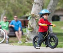 Парад дошколят на велосипедах