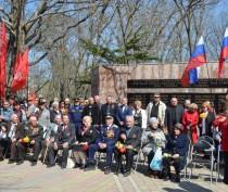 Феодосия отмечает 71-ю годовщину освобождения от фашистов (ФОТО ВИДЕО)