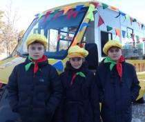 Новости Феодосии: Феодосия получила 2 школьных автобуса