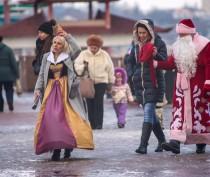Новости Феодосии: Дед Мороз на улицах Феодосии