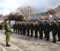 Новости Феодосии: В Феодосии новобранцы присягнули на верность родине