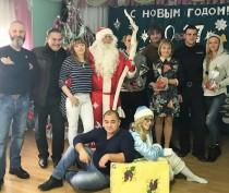 Новости Феодосии: В Феодосии детишек поздравлял полицейский Дед Мороз