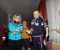 Новости Феодосии: В феодосийской школе открыли обновленный спортзал (ФОТО)