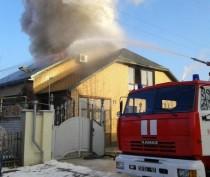 Новости Феодосии: В Феодосии загорелся жилой дом