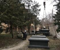 Новости Феодосии: Приводят в порядок территорию возле одного из символов Феодосии