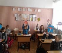 Новости Феодосии: В одной из феодосийских школ презентовали проект «Я — пешеход и пассажир»