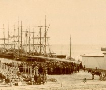 Новости Феодосии: Порт 110 лет назад...