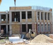 Новости Феодосии: Строители возвели один из корпусов детсада на Челноках в Феодосии (ФОТО)