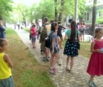 Новости Феодосии: Возле музея Цветаевых в Феодосии проходит фотосушка