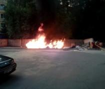 Новости Феодосии: В Феодосии хулиганы поджигают  мусорные контейнеры