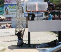 Новости Феодосии: Феодосийский пляж «Камешки» сегодня