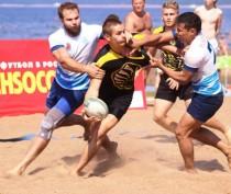 Новости Феодосии: Соревнования по пляжному регби прошли при штормовой погоде