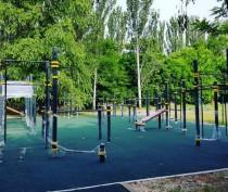 Новости Феодосии: На СБ Динамо появилась новая спортивная площадка