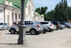 Новость. Город: Феодосия - Автостоянка на привокзальной площади Феодосии