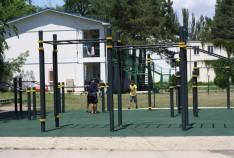 Новость. Город: Феодосия - Открытие спортплощадки в Феодосии