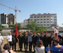 Новости Феодосии: В Феодосии освятили закладной камень под часовню св. Федора Ушакова