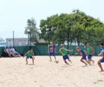 Феодосийские спасатели заняли третье место в чемпионате по пляжному футболу среди команд МЧС