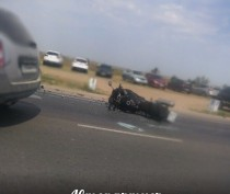 В Феодосии столкнулись мотоцикл и легковушка