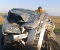 На трассе под Феодосией не разминулись три авто: один человек в больнице (ФОТО)