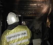 Пожарные спасли загоревшийся в Коктебеле эллинг