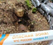 Пиротехники уничтожили 10 осколочных авиабомб в Ленинском районе