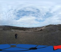 Вид с передающей Полезного радио 96,6 (360°)