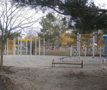 В Орджоникидзе открыли площадку ГТО