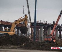 Дорога к Крымскому мосту готова на две трети – заказчик