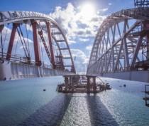 Пролёты Крымского моста соединились с арками