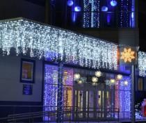 В Керчи объявили конкурс среди предприятий на лучшее новогоднее украшение зданий