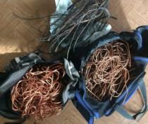 Керчанин похитил 270 метров кабеля из реконструируемого Молодежного парка