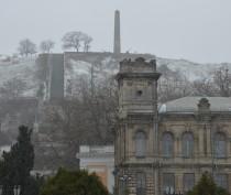 Возможен первый снег в Керчи