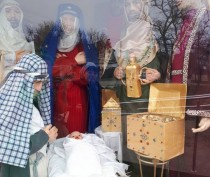 Вертеп в Береговом будет до Рождества
