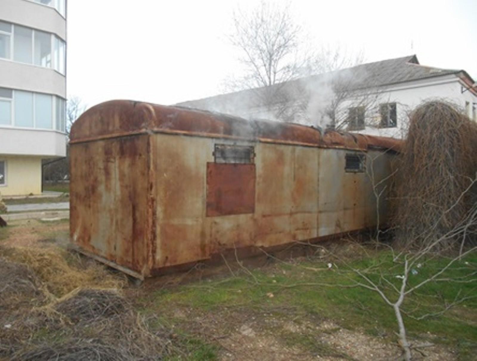 ВКрыму сгорел Дом культуры