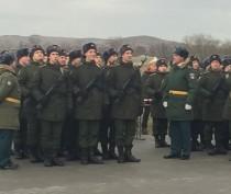 Железнодорожный батальон Керчи принял новобранцев (ФОТО)