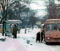 Зимняя Феодосия в разные годы