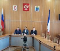 Сегодня в администрации Феодосии прошла пресс-конференция